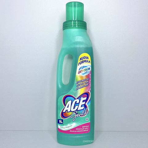 Пятновыводитель жидкий Ace gentile 1 л