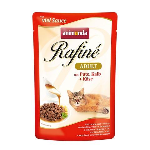 Animonda Rafine Soupe Adult с индейкой, телятиной и сыром