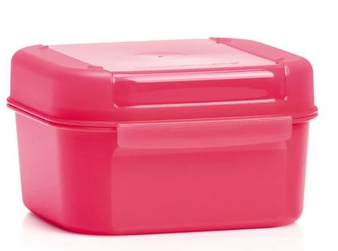 Кристальная ёмкость 450мл в розовом цвете