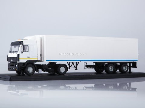 MAZ-5440 with semi-trailer ODAZ-9786 1:43 Start Scale Models (SSM)
