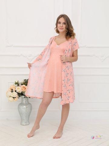 ФЭСТ, Hunny Mammy. Комплект для беременных и кормящих хлопок, розовый вид 1