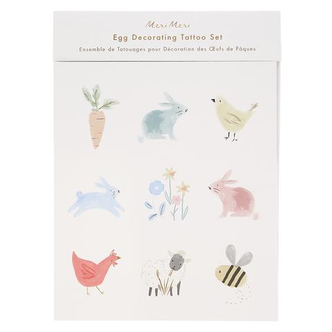 Набор переводных наклеек для пасхальных яиц