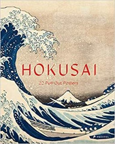 PRESTEL: Hokusai. 22 Pull-out Posters