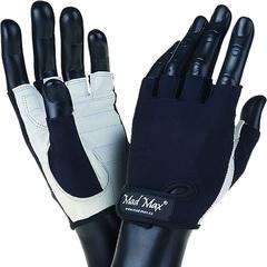 Мужские перчатки MadMax Basic MFG250 WH-BK