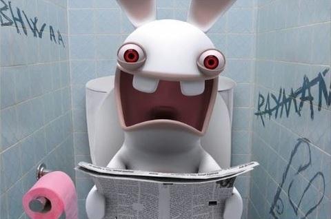 Постер Арт Бешеные кролики