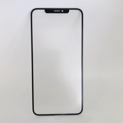 Фронтальное стекло, лицевое стекло iPhone XS Max с OCA пленкой