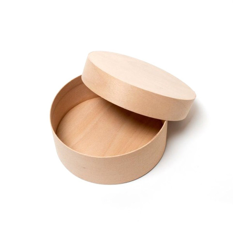 Коробочка для сыра из шпона, 95х35 мм