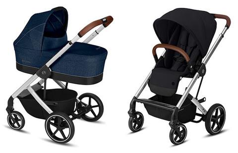 Детская коляска Cybex Balios S Denim Blue + Balios S Lux SLV