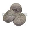 Пряжа таблетка, 100% овечья шерсть (серый)