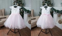 Платье детское № 2 Розовое