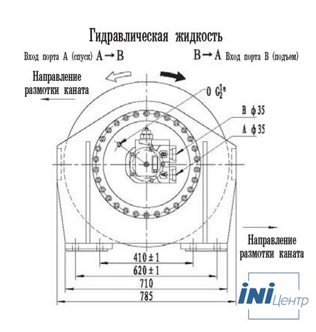 Стандартная лебедка IYJ45-150-163-32-ZP