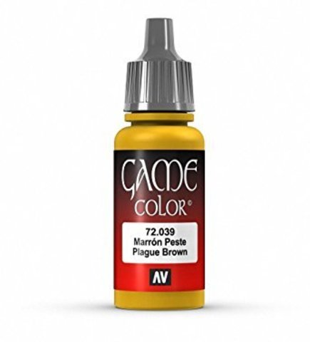 Game Color Plague Brown 17 ml.