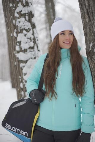 Утеплённая прогулочная лыжная куртка Nordski Montana Sky W женская