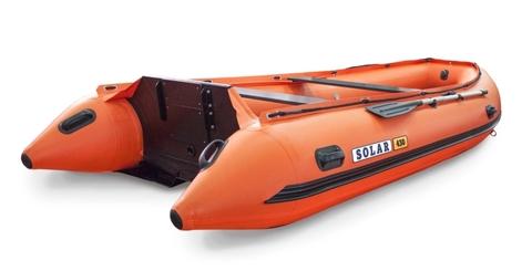Надувная ПВХ-лодка Солар - 430 Super Jet Tunnel (оранжевый)