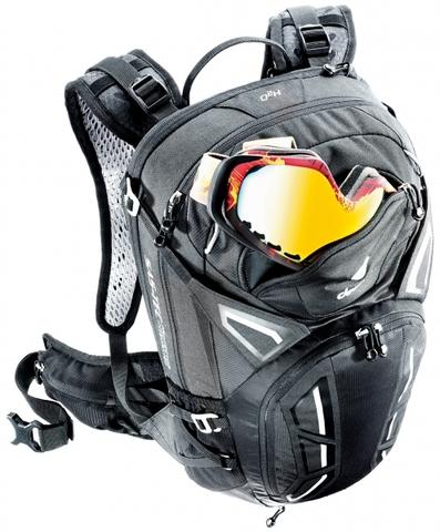 Картинка рюкзак велосипедный Deuter Attack 20 Black - 3