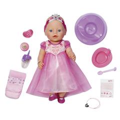 ZAPF Игрушка BABY born Кукла Принцесса интерактивная (820-438)