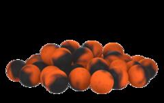 Бойлы насад. плав. двух цв. Sonik Baits LIVER-HALIBUT Fluo Pop-ups 14мм 90мл