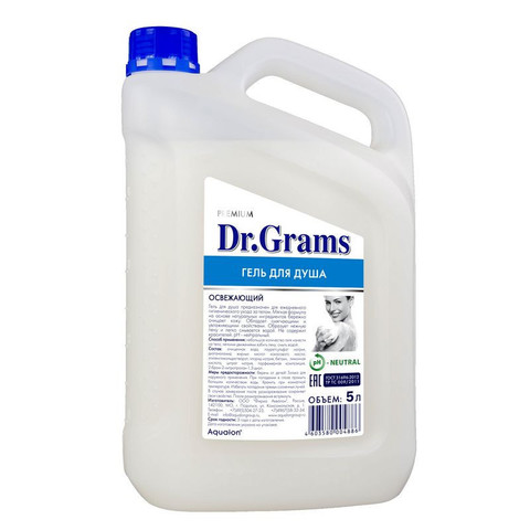 Гель для душа Dr.Grams 5 л канистра