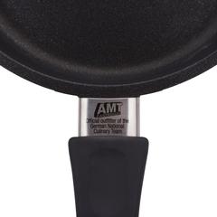 Сковорода, диаметр 20 см, высота 4 см, фиксированная ручка, литой алюминий с антипригарным покрытием, толщина дна - 10 мм, серия Frying Pans, AMT420FIX, AMT, Германия