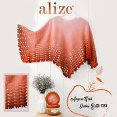 Пряжа Alize Angora Gold Ombre Batik цвет 7361