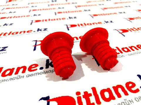 Буферы капота красные