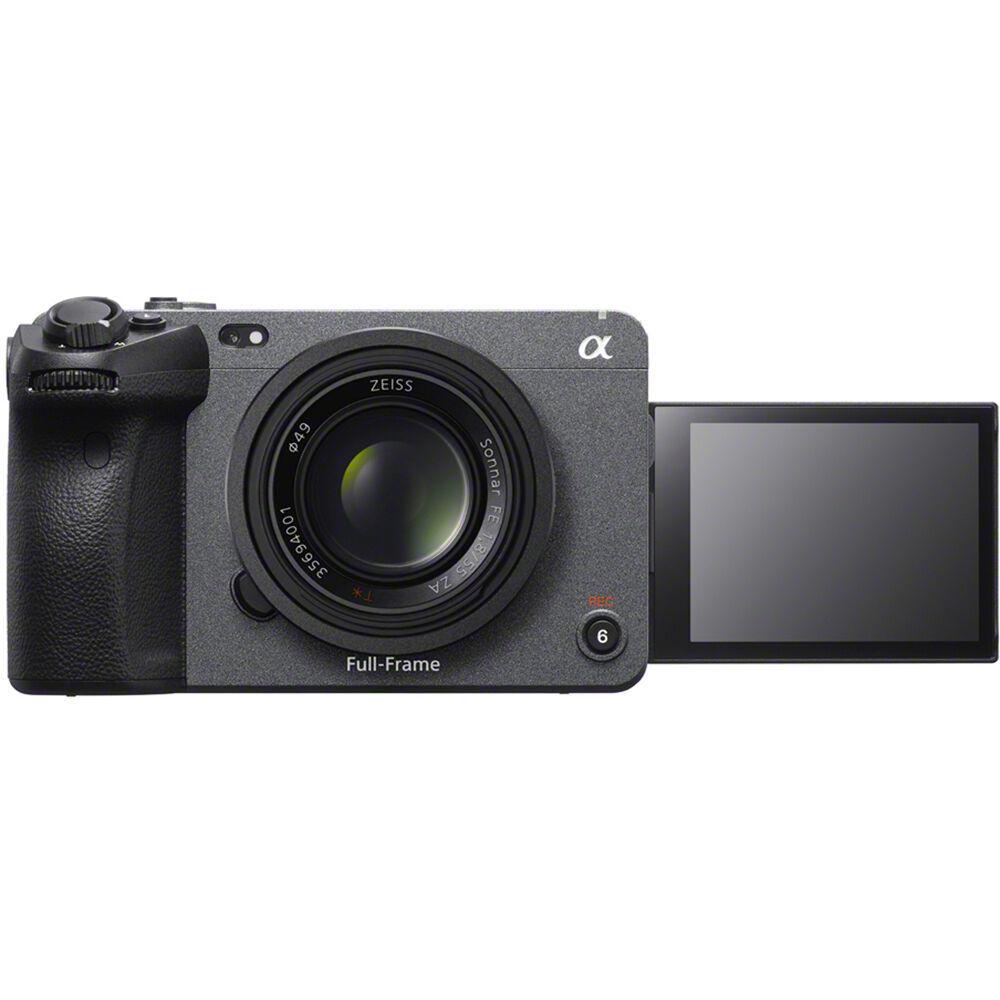 Полнокадровая камера Sony FX3 с поворотным дисплеем