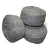 Пряжа таблетка, 100% овечья шерсть (темн. серый)