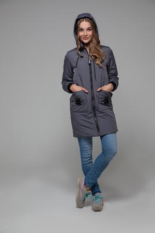 Куртка на синтепоне с капюшоном купить