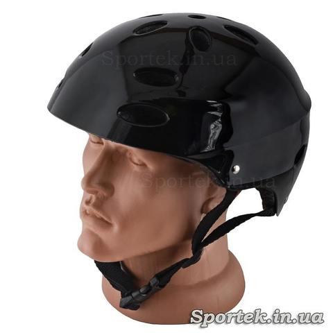Велосипедний шолом для підлітків і дорослих, чорний, розмір 55-56 (S)