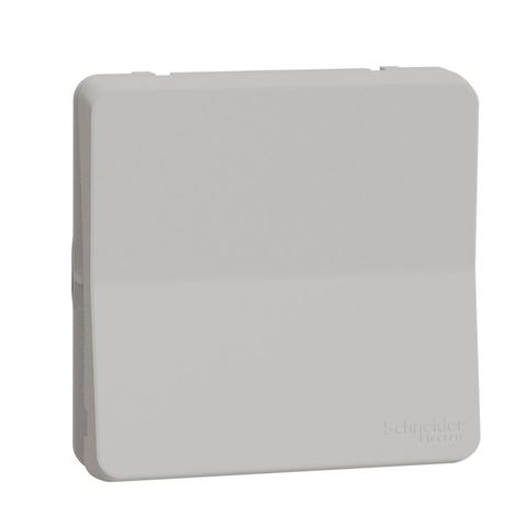 Выключатель/переключатель одноклавишный 2 полюсный. Цвет Белый. Schneider Electric(Шнайдер электрик). Mureva styl(Мурева стайл). MUR39033