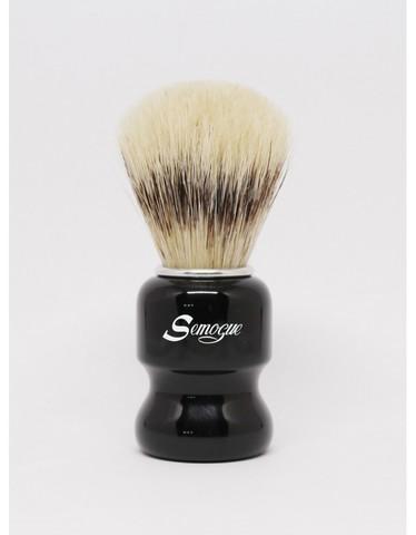 Помазок для бритья Semogue C3 Премиум кабан черная ручка