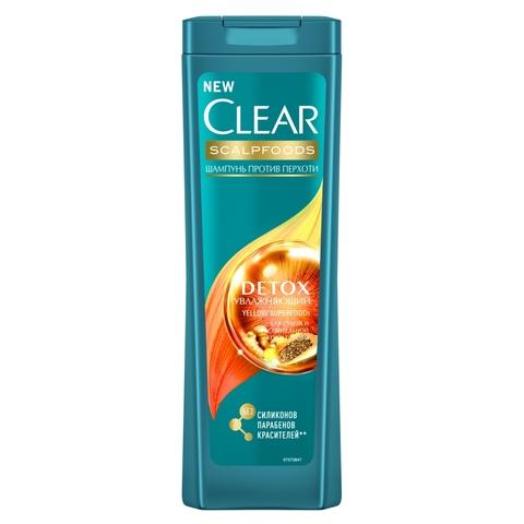 Шампунь CLEAR Detox Увлажняющий 200 мл