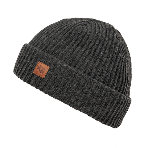 Шапка Horsefeathers AGAIN BEANIE (heather gray)