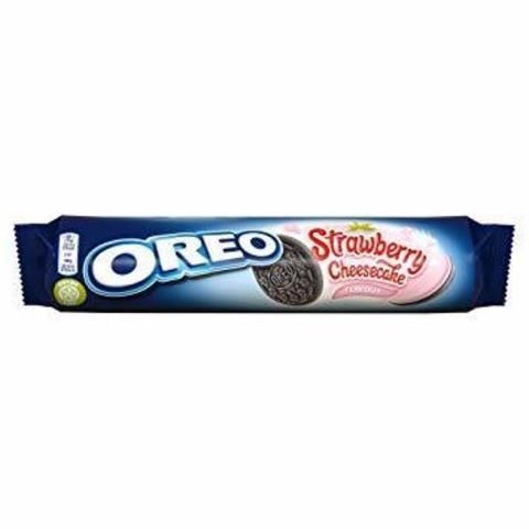 Oreo Strawberry Cheesecake Орео клубничный чизкейк 154 гр