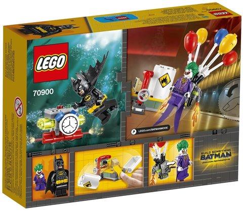 LEGO Batman Movie: Побег Джокера на воздушном шаре 70900 — The Joker Balloon Escape — Лего Бэтмен Муви Кино