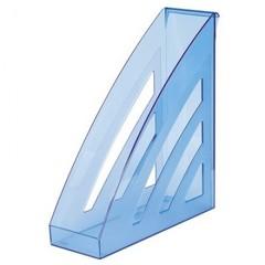 Вертикальный накопитель Attache City пластиковый синий ширина 90 мм