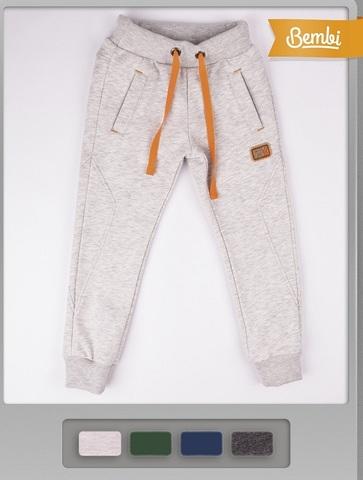 ШР384 Спортивные брюки для мальчика с начесом