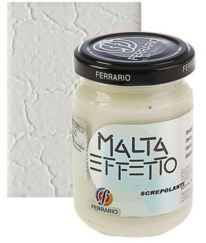 Паста текстурная Ferrario MALTA, эффект: Кракелюр, 300 мл