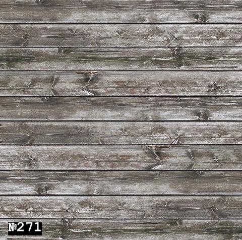 Фотофон виниловый «Светло - коричневые доски» №271