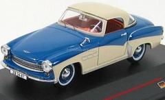 Wartburg 313 Sport blue-cream 1957 IST023 IST Models 1:43