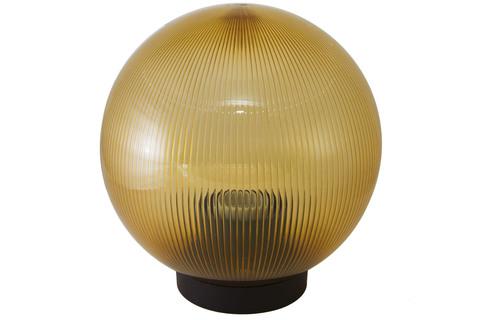 Светильник НТУ 02- 60-254 шар золотой с огранкой d=250 мм TDM
