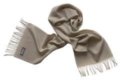 Шерстяной шарф серый 15801