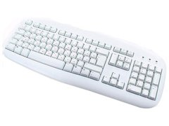 LOGITECH Value Keyboard white OEM PS/2