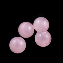 Бусины кварц розовый шар гладкий 12 мм