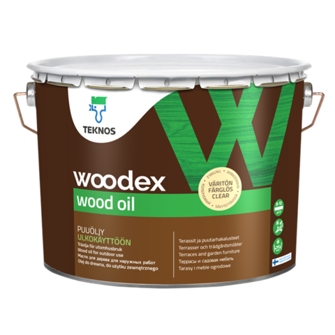TEKNOS WOODEX WOOD OIL/Текнос Вудекс Вуд Ойл Масло для дерева