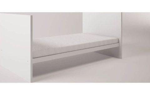 Кроватка детская Polini kids Classic 140х70см, белый снег