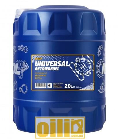 Mannol 8107 UNIVERSAL GETRIEBEOEL 80W-90 GL-4 20л