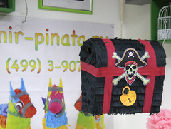 Пиньята пиратский Сундук - мир-пиньята - пиньята на заказ