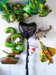 Купить шарики на 23 февраля