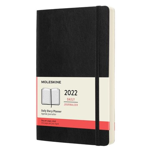 Ежедневник Moleskine (DSB12DC3) Classic Soft Large 130х210мм 400стр. мягкая обложка черный